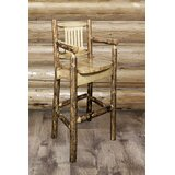 Tustin Solid Wood Bar & Counter Stool by Loon Peak®