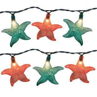 Brite Star 10 Light Starfish String Light (Set of 2)