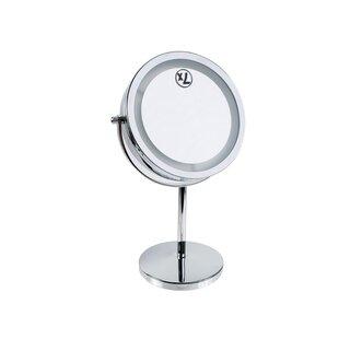Symple Stuff Langner Makeup/Shaving Mirror