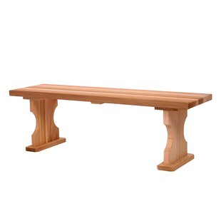 Hardwood Doweling Picnic Bench by All Things Cedar