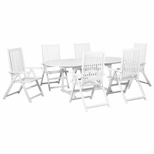 Cruce 6 Seater Dining Set By Beachcrest Home