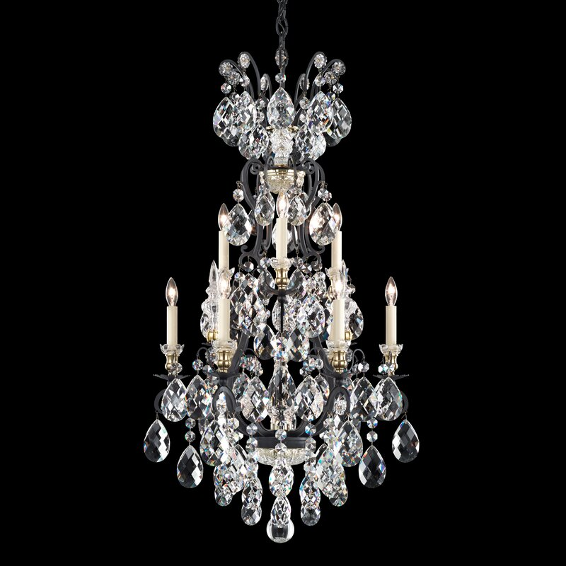 Light Candle Style Chandelier