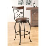 Insley Swivel 29'' Bar Stool (Set of 2) by Canora Grey