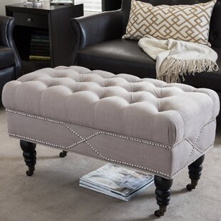 Kearney Upholstered Bench by Alcott Hill
