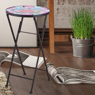 Adeco Trading Folding Bistro Table