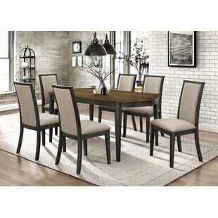 Steed 7 Piece Dining Set Gracie Oaks