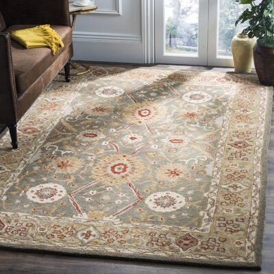 Tingley Persian Inspired Hand Tufted Wool Gold Area Rug Joss Main