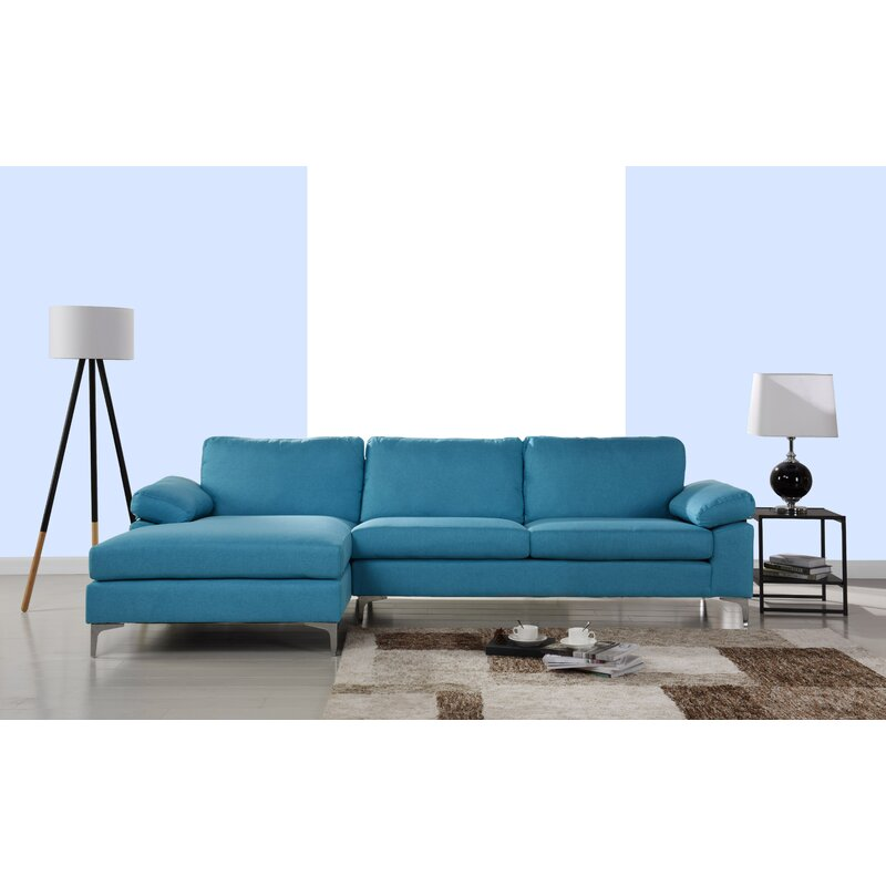 Manhasset Left Hand Facing Modern Large Sectional