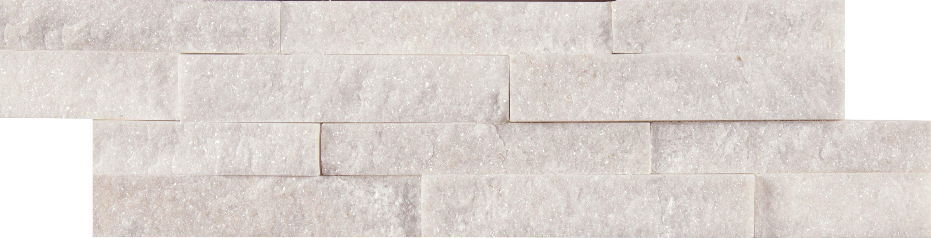 Msi arctic golden mini ledger panel quartzite marble splitface arctic golden mini ledger panel quartzite marble splitfacemosaic tile in white dailygadgetfo Images