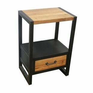 Latitude Run Cami End Table with Storage