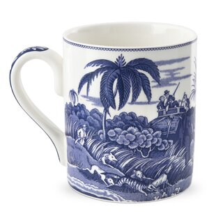 Blue Room 16 oz. Indian Sporting Mug