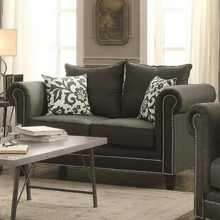 Ismael Contemporary Loveseat by Alcott Hill