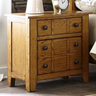 Grandpas Cabin 2 Drawer Nightstand by Millwood Pines