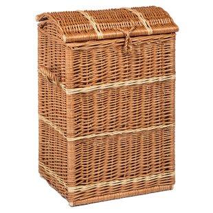 Wicker Laundry Basket By Beachcrest Home