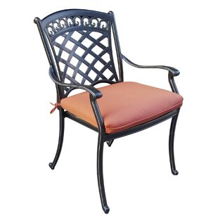Center Stacking Patio Dining Chair (Set of 4)
