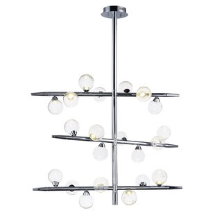 Orren Ellis Daphne 21-Light Sputnik Chandelier