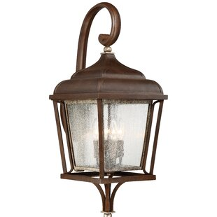 Gracie Oaks Serge 4-Light Outdoor Wall Lantern