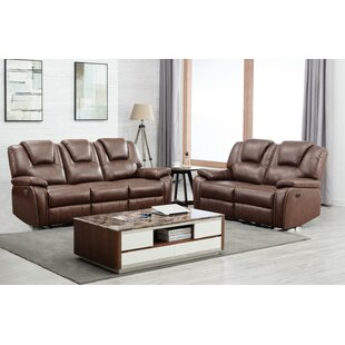 Joseline 2 Piece Reclining Living Room Set
