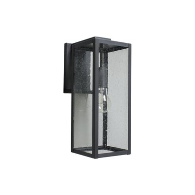 Outdoor Wall Lantern Brass Traditions Fixture Finish: Flat Black Lacquer