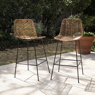 Iliana 28 Patio Bar Stool (Set of 2)