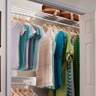 Read Reviews Closet System Wall Shelf ByEZ Shelf from Tube Technology