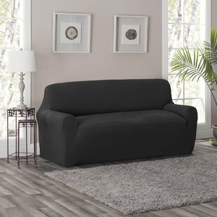 Full/Queen Box Cushion Loveseat Slipcover