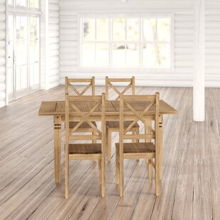 Spruce Knob Dining Set With 4 Chairs By Union Rustic