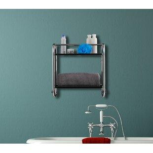 46 X 45cm Bathroom Shelf By Symple Stuff
