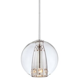 Everly Quinn Khoa 1-Light Pendant