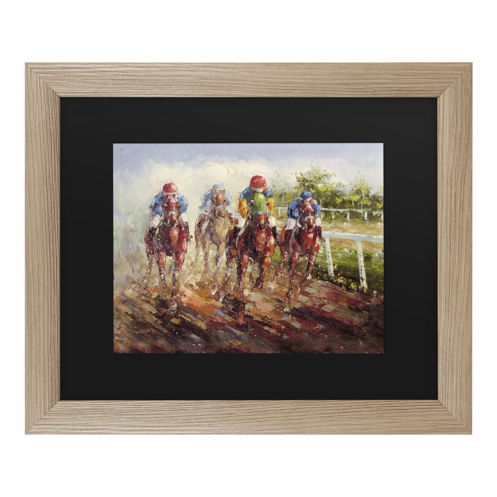 Framed Acrylic Painting Print