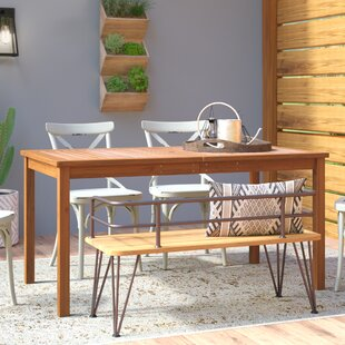 Luttrell Solid Wood Dining Table