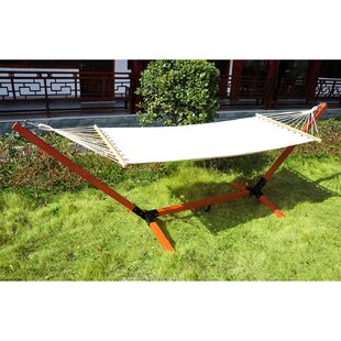 Birmingham Cotton Hammock With Stand By Sol 72 Outdoor