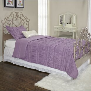 Dubreuil Twin Panel Bed by Harriet Bee