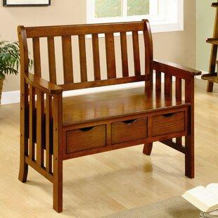 Hokku Designs Crest Storage Bench