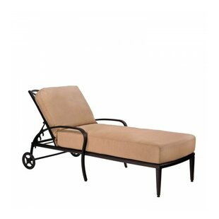 Woodard Apollo Chaise Lounge with Cushion