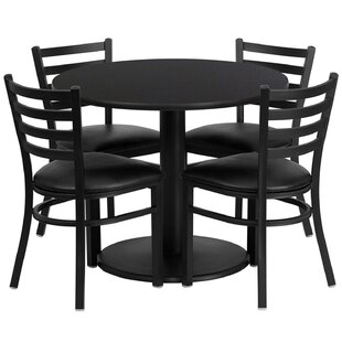 Lomonaco 5 Piece Dining Set by Winston Porter Great price