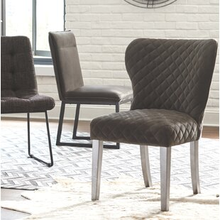 Trantham Upholstered Dining Chair (Set of 2) Union Rustic