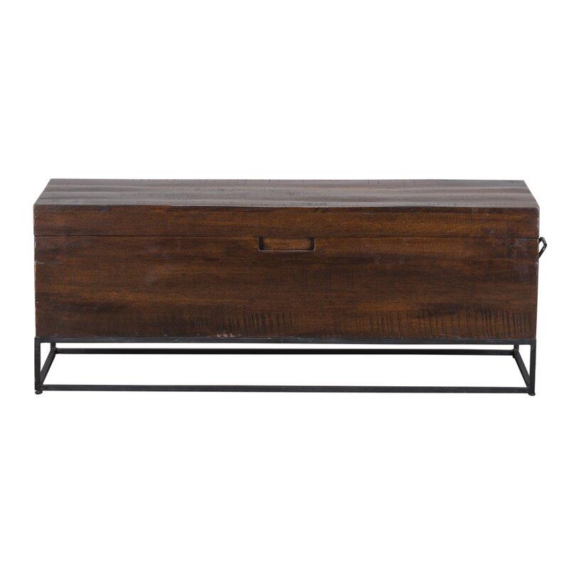 Rancho Mirage Wood Storage Bench Amp Reviews Joss Amp Main