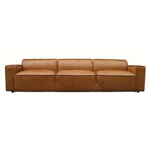 Vintage Leather Sofa | Wayfair.co.uk