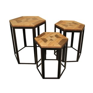 3 Piece Nesting Tables by Cheungs