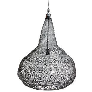 Cayeman 1-Light Teardrop Pendant by Mistana