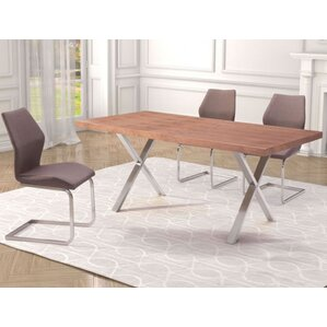 Addis Dining Table by Mercury Row