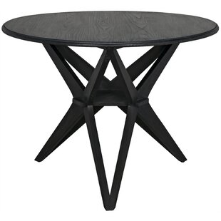 Victor Solid Wood Dining Table by Noir Today Only Sale