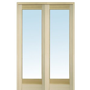 32x84 interior door wayfair wood 2 panel natural interior french door planetlyrics Image collections