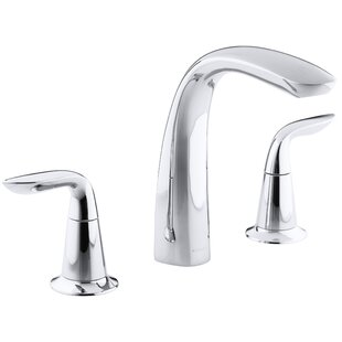 Refinia Bath Faucet Trim for High-Flow Valve with Lever Handles , Valve Not Included By Kohler