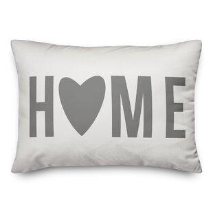 Sobieski Home Heart Lumbar Pillow