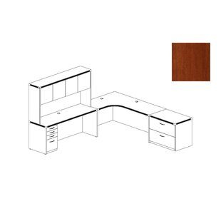 Aberdeen Series 2-Piece L-Shape Desk Office Suite