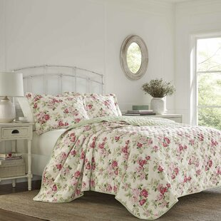 Willa Cotton Reversible Quilt Set by Laura Ashley Home