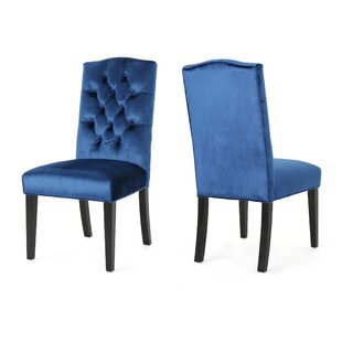 Menard Traditional Upholstered Dining Chair (Set Of 2) by House of Hampton #2