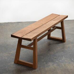 Gingko Home Furnishings Chelsea Walnut Bench